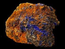 Azurite Morenci Arizona USA