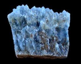 Barite blue Utah USA