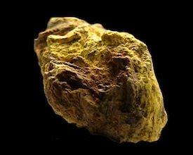 Carnotite Uranium Ore California USA