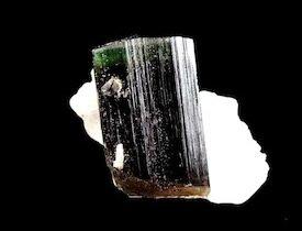 Elbaite green with white Cleavelandite