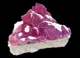 Fluorite pink Durango Mexico