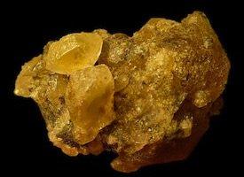 Hanksite golden yellow California