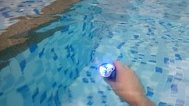 underwater flashlight