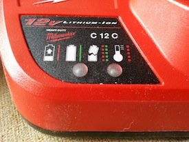 Milwaukee Lithium-Ion battery charger