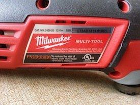Milwaukee M12 Multi-Tool