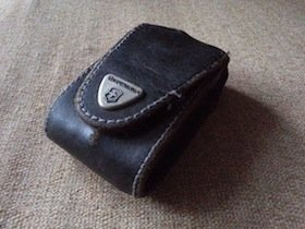 Victorinox leather pouch for SwissChamp XLT