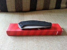 kershaw freefall tanto unboxing