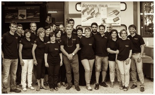 LionSteel family members and staff