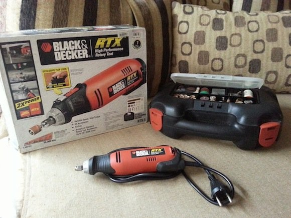 black & decker rtx-1 high-speed rotary tool