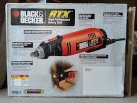 black & decker rtx-1 box