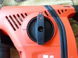 Hilti TE 6-A36 rotary hammer drilling