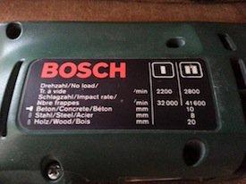 bosch psb 400-2