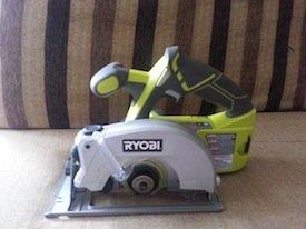 Ryobi P506 circular saw