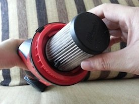 Milwaukee M12 Compact Vacuum filter replacement