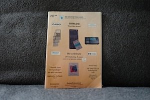BB marketing catalog for HP calculators