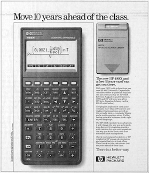 HP 48SX advertisement