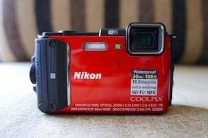 nikon AW130 underwater camera