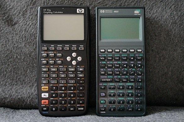 hp 50g and hp 48gx