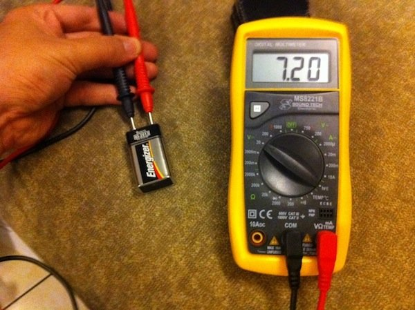 checking battery voltage levels maximising the use of old batteries. Black Bedroom Furniture Sets. Home Design Ideas