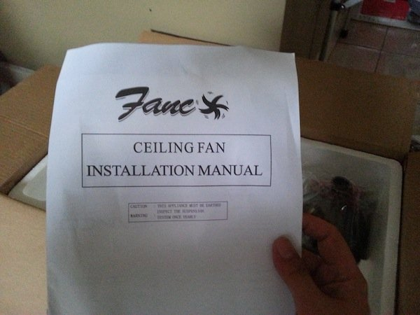 How to install a ceiling fan with light devonbuy as mentioned earlier the installation manual that came with the fan was for a totally different model seems we will have to figure out the following aloadofball Images