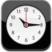 World Clock on iPhone