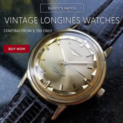 vintage Longines watches
