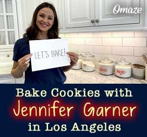 Bake Cookies with Jennifer Garner in LA