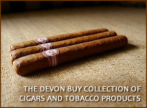 collection of cigars and tobacco