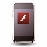 run flash on iphone