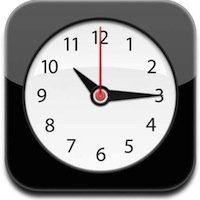 World Clock on iPhone