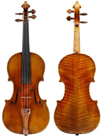 perlman's violin