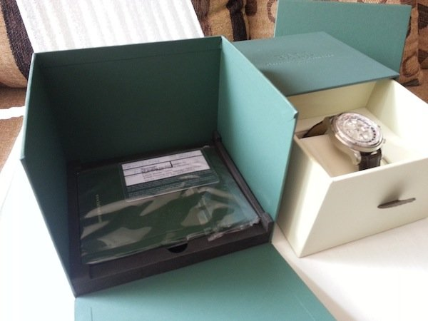 Ball Trainmaster Worldtime Chronograph manual and warranty card