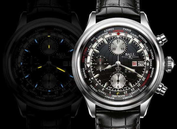 Ball Trainmaster Worldtime Chronograph