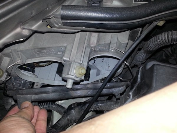 alfa romeo 147 headlamp wiring insulation