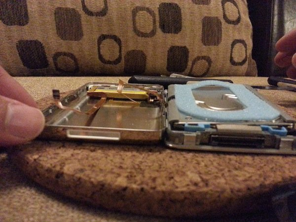 replacing iPod HDD