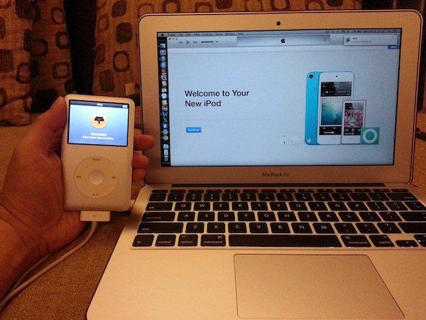 replacing ipod classic hard drive