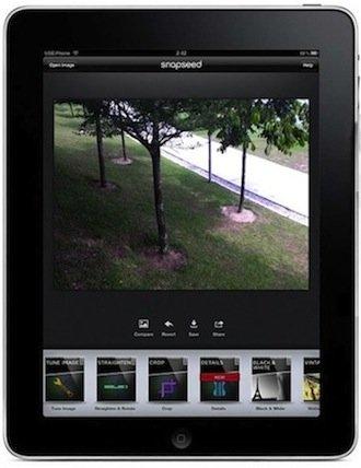 Snapseed for iPad