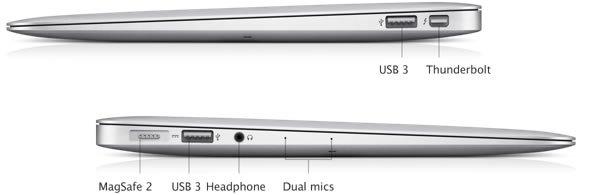 MacBook Air ports