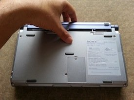 Sony VAIO PictureBook battery replacement