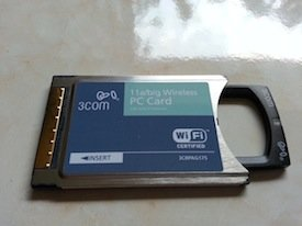 3COM XJACK Wireless PC Card