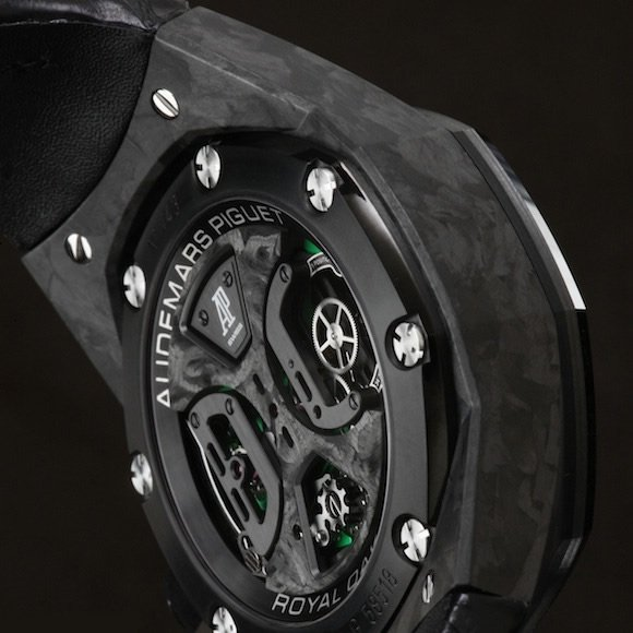 Audemars Piguet Royal Oak Carbone Concept caseback