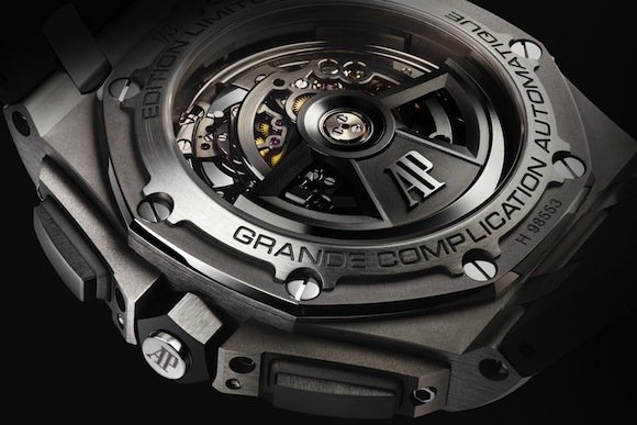 Audemars Piguet Royal Oak Offshore Grande Complication Limited Edition caseback