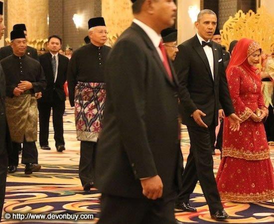 obama visits Malaysia