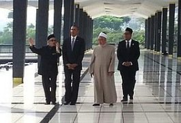 Obama at National Mosque