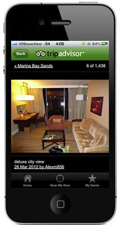 TripAdvisor for iPhone
