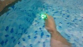 Nitecore flashlight underwater test