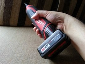 milwaukee m12 rotary tool