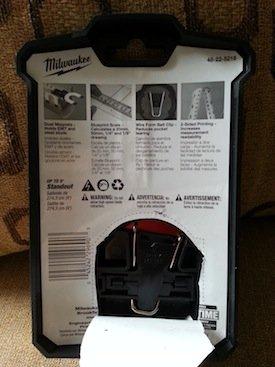 milwaukee magnetic tape measure