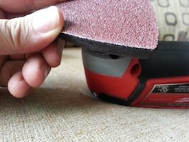 Milwaukee sanding pad