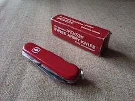 Wenger swiss army knife